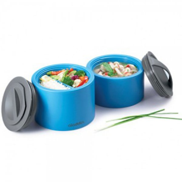 aladdin bento lunch box 0 6 l aladdin bento lunch box kids 0 6 l blue cookfunky aladdin bento. Black Bedroom Furniture Sets. Home Design Ideas