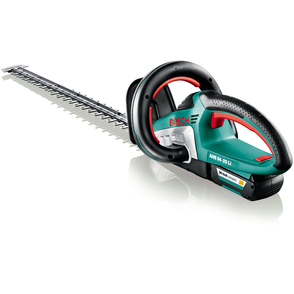 bosch ahs 54 20 li 36v 54cm cordless li ion hedge trimmer bare tool hedgetrimmer only. Black Bedroom Furniture Sets. Home Design Ideas