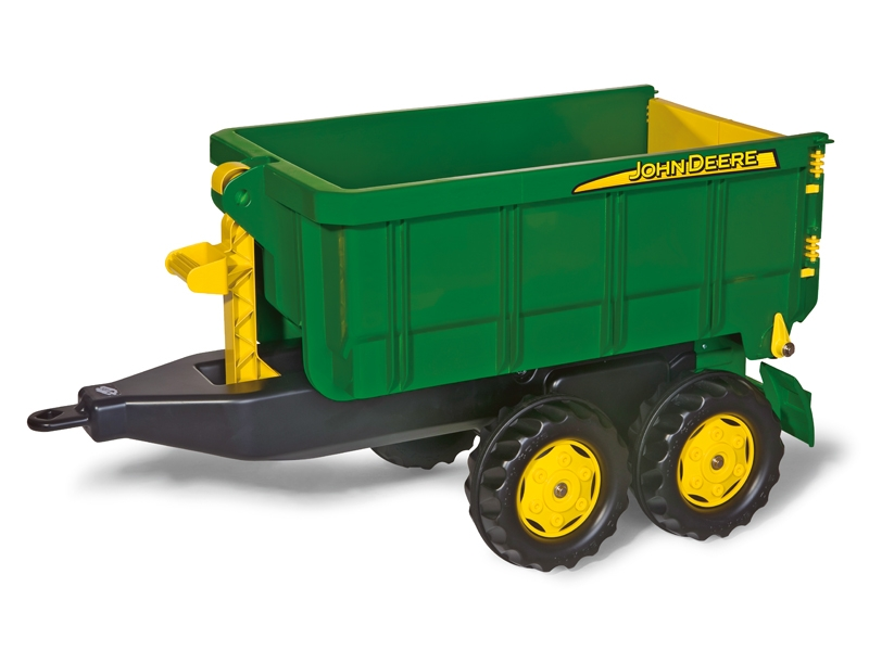 John Deere Kids Rolly Tractor Container Truck Green