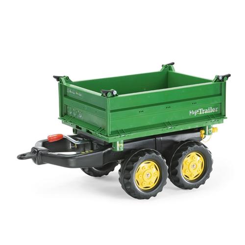 John Deere Kids Rolly Tractor Mega Trailer Green