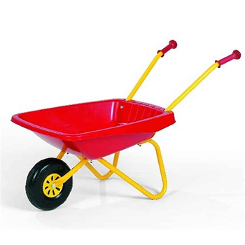 Rolly Toys Kids Plastic Wheelbarrow Red