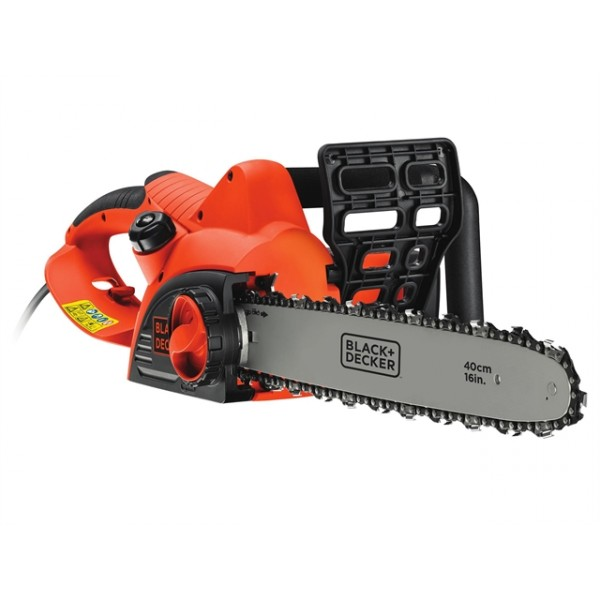 Black and Decker CS2040 Corded Chainsaw 40cm Bar 2000 Watt 240V