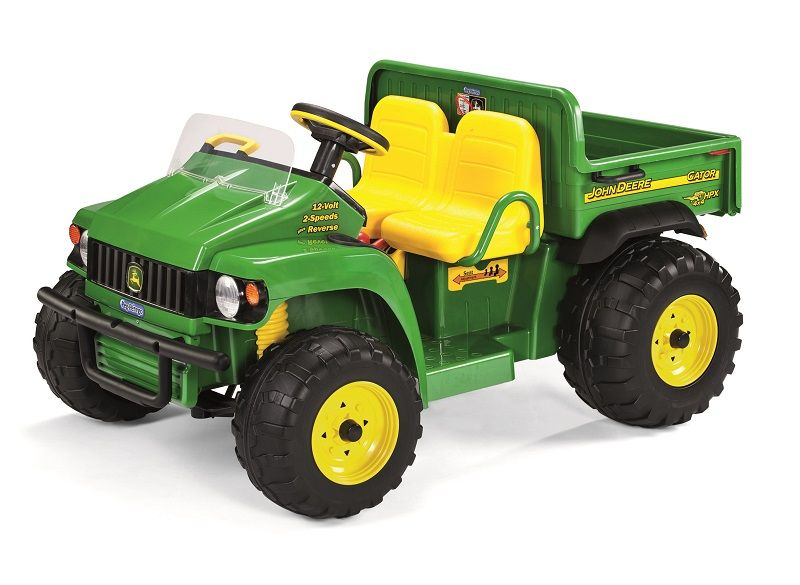 john deere kids 12v electric ride on hpx gator tractor