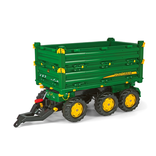john deere kids rolly tractor multi trailer green. Black Bedroom Furniture Sets. Home Design Ideas