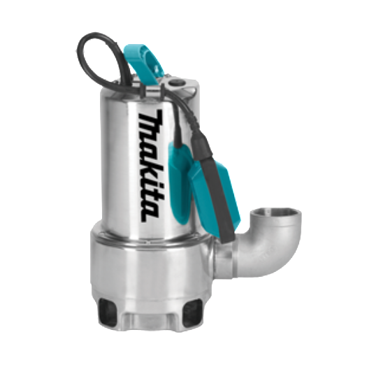Makita PF1110 Electric Submersible Pump 1100W - 240 volts